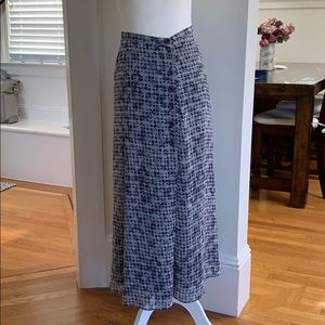 Ann Taylor vintage button front maxi skirt